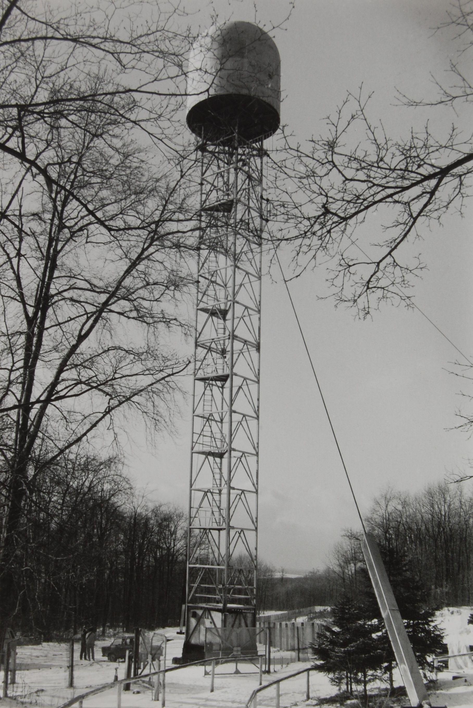 Radarturm zu DDR Zeiten